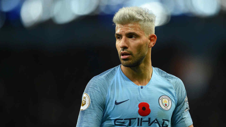Kun Agüero en el Manchester City