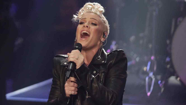 La cantante Pink.