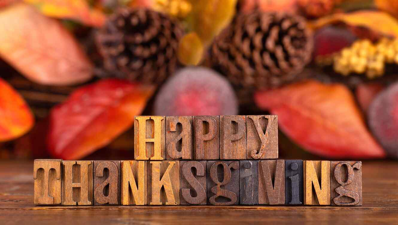 Mensaje de feliz Thanksgiving