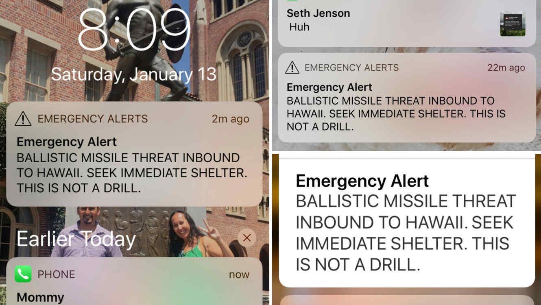 James Shields señaló en su demanda que el ataque cardiaco que sufrió estuvo directamente relacionado con la falsa alerta emitida por el estado de Hawaii.
