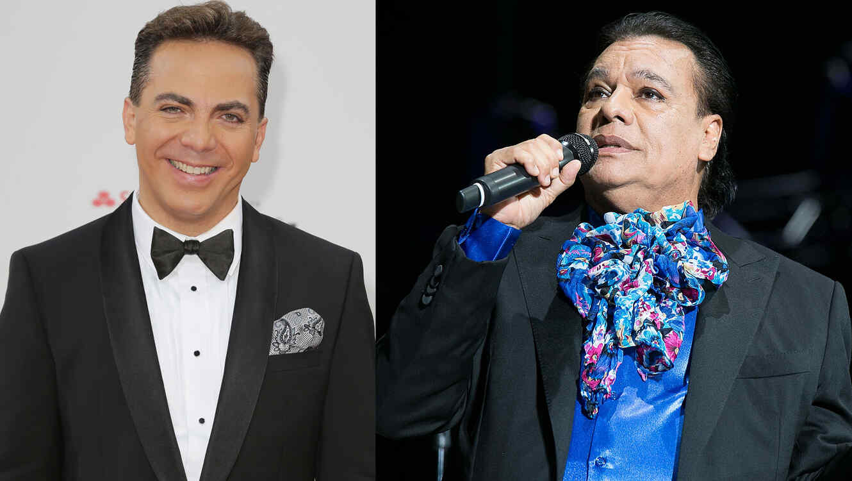 Juan Gabriel y Cristian Castro