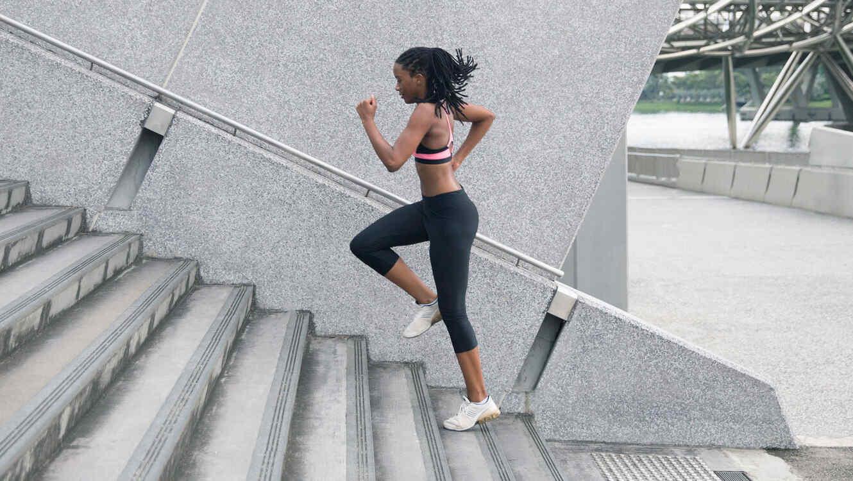 Correr en escaleras