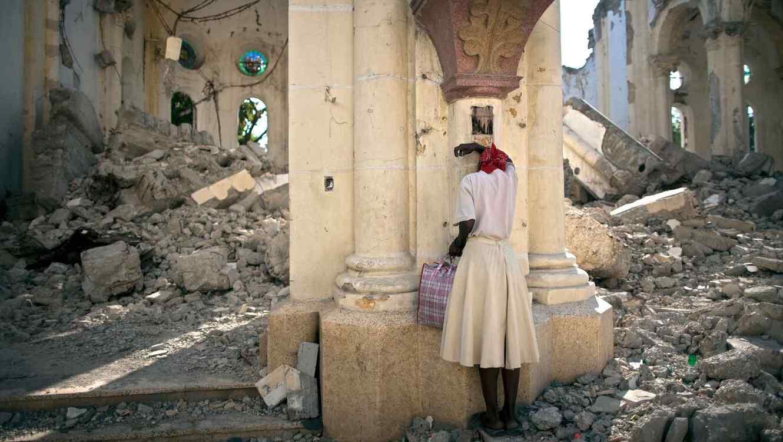 Imagen de los daños ocasionados por el terremoto de Haití en el 2010.