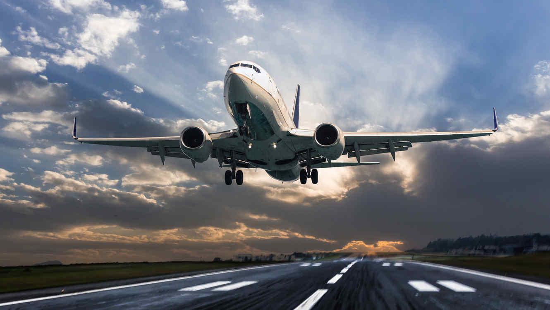 Avión lujoso