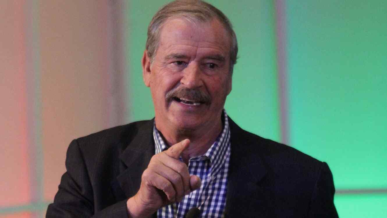 Foto de archivo de Vicente Fox, ex presidente de México