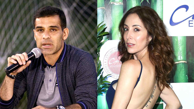 Rafa Márquez y Adriana Lavat