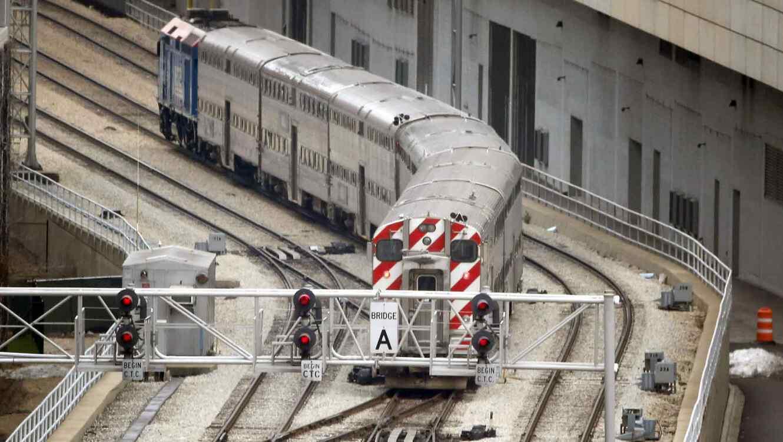 El tren iba viajaba a unas 70 millas por hora.