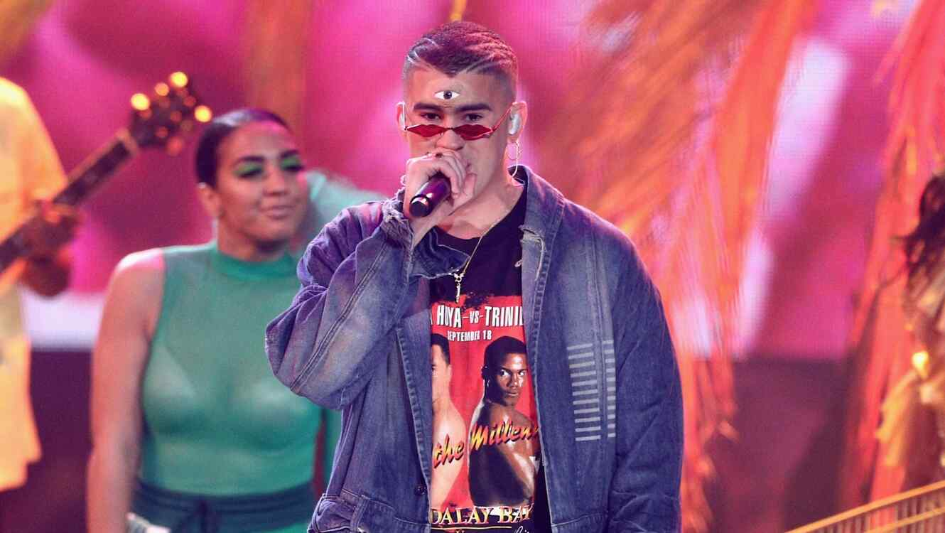 Bad Bunny at the AMAs