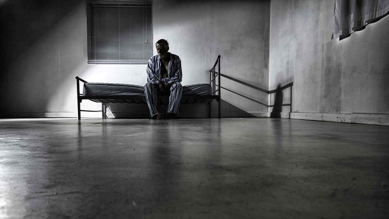 Anciano en prisión