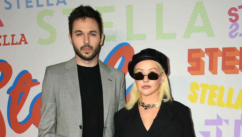 Christina Aguilera y su prometido