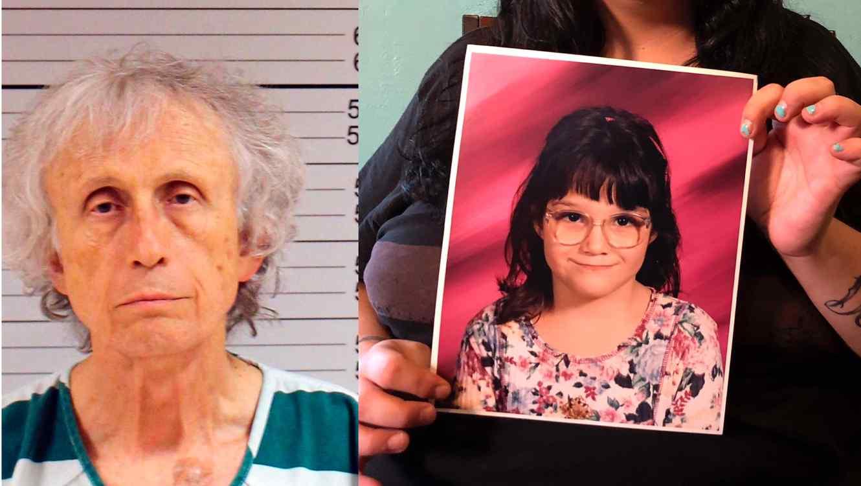 A la izquierda Johnnie Barto, acusado de abusar sexualmente de menores de edad. A la derecha una de las víctimas.