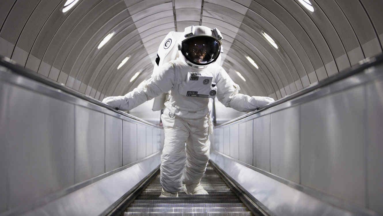 Astronauta caminando
