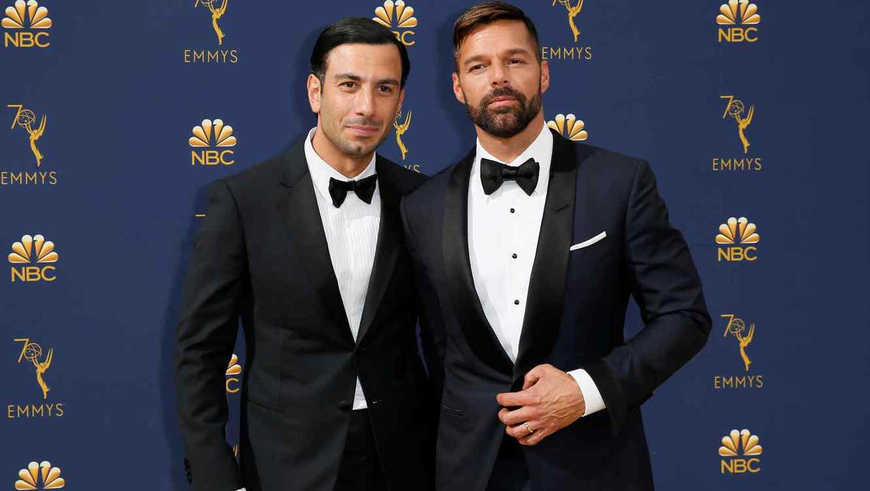 Ricky Martin y su esposo Jwan Yosef.