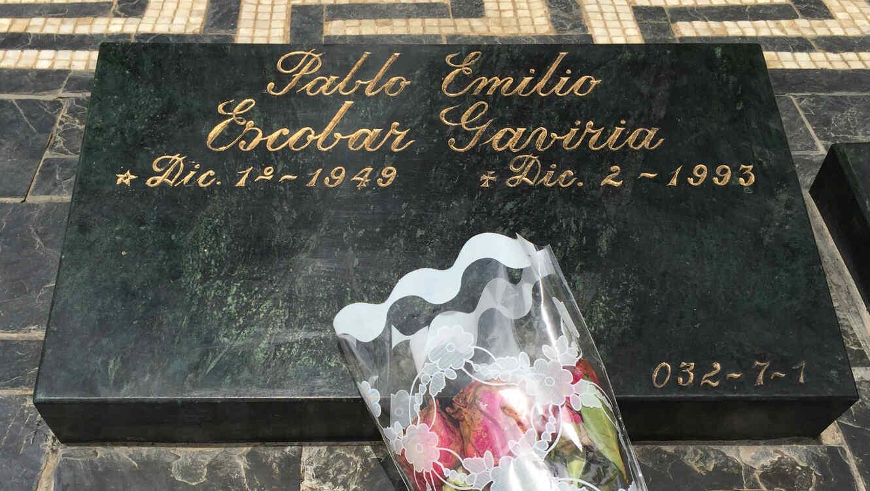 Tumba de Pablo Escobar