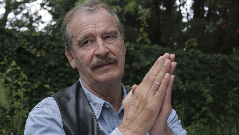 Foto de archivo de el ex presidente mexicano Vicente Fox