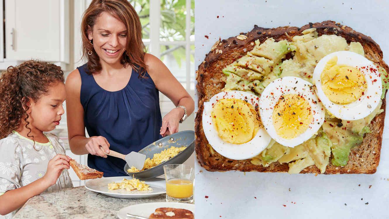 Huevos en el desayuno