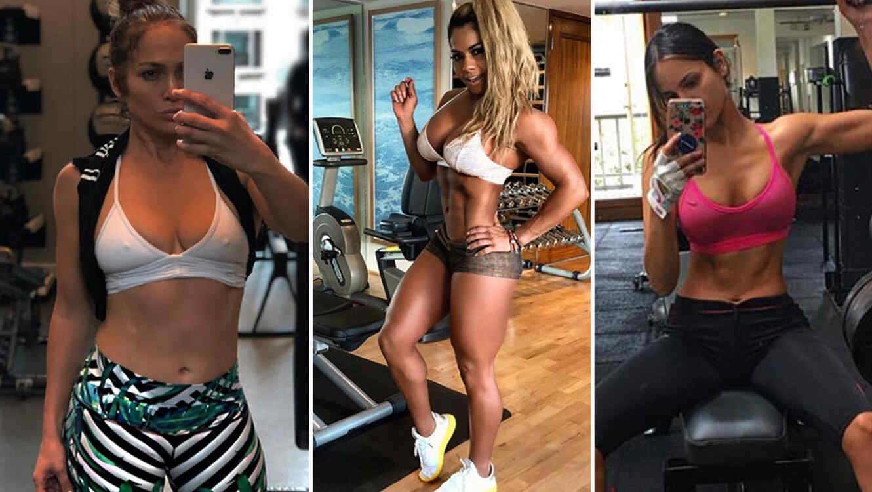 Collage latinas fitness