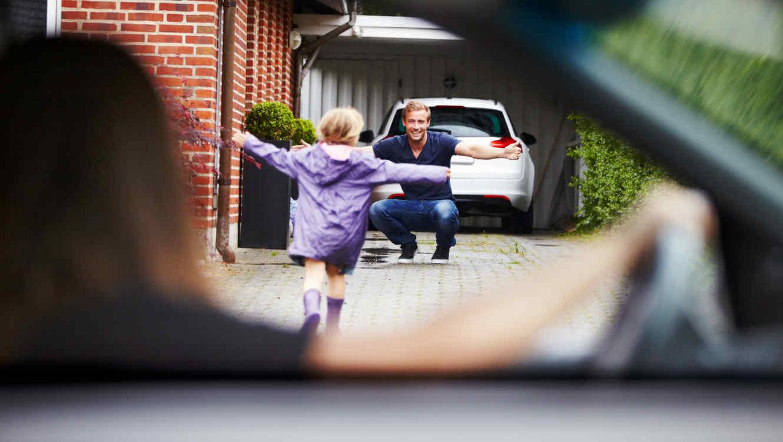 Padres y custodia compartida