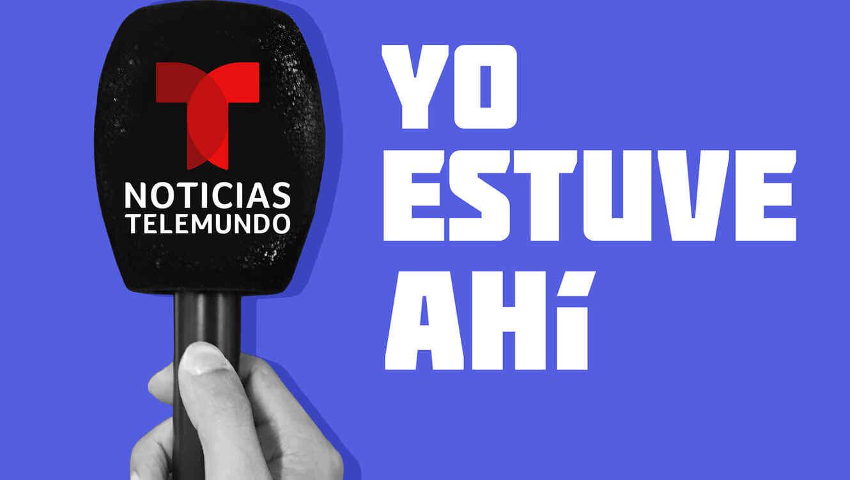 Imagen del Podcast Yo estuve ahí, de Noticias Telemundo.