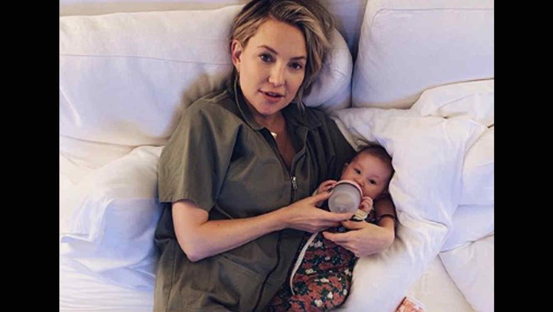 Kate Hudson y su bebé