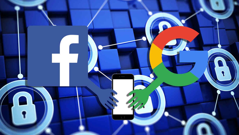 Google y Facebook privacidad