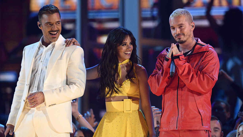 Camila Cabello, Ricky Martin y J Balvin