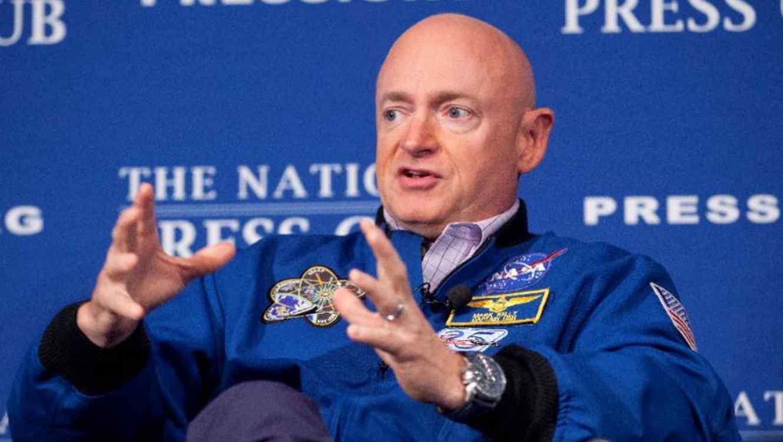 El astronauta retirado, Mark Kelly, en una foto de archivo.
