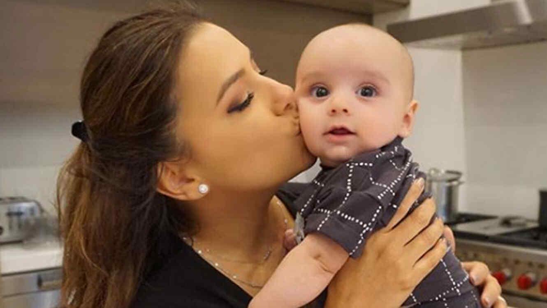 Eva Longoria y su hijo