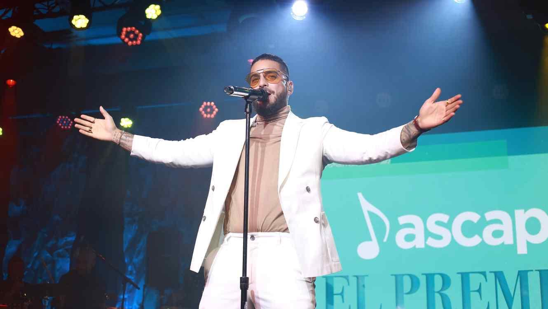 Maluma at the 2019 ASCAP Latino Awards.