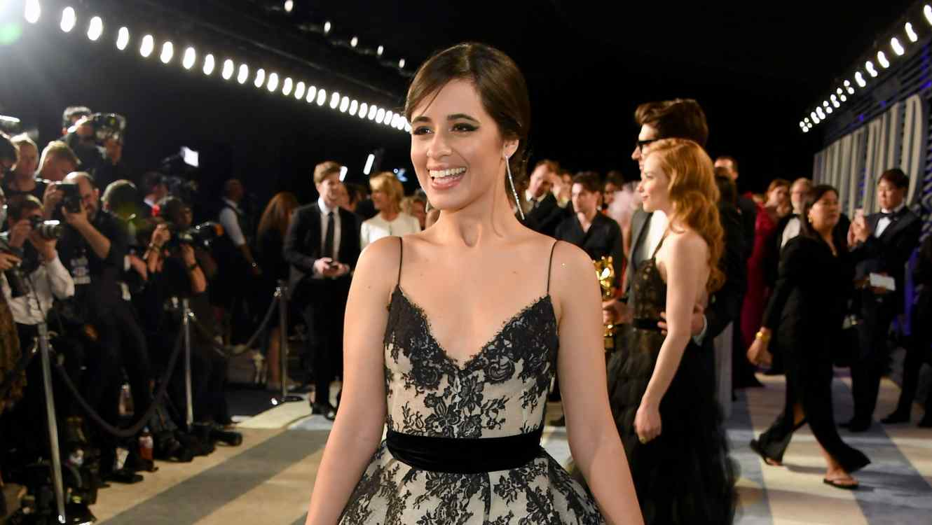 Camila Cabello at the Vanity Fair Oscar Party