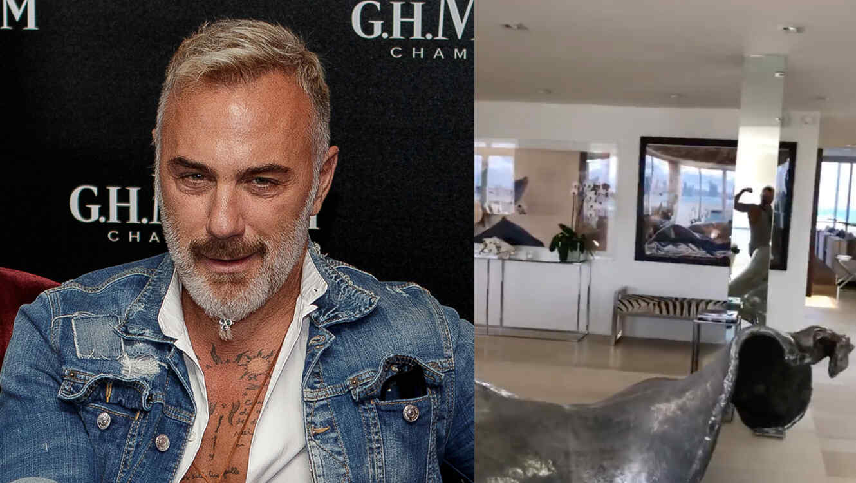 Gianlucca Vacchi presume su lujosa casa de Miami.
