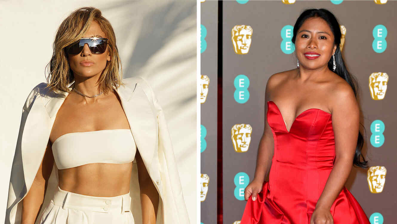Jennifer Lopez y Yalitza Apariciio
