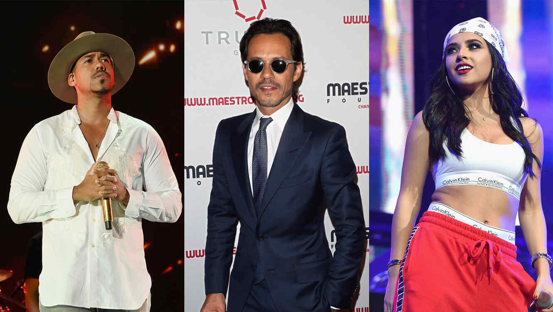 Romeo Santos, Marc Anthony, Becky G