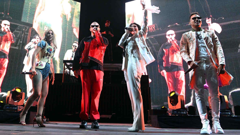 Cardi B, DJ Snake, Selena Gomez y Ozuna en Coachella