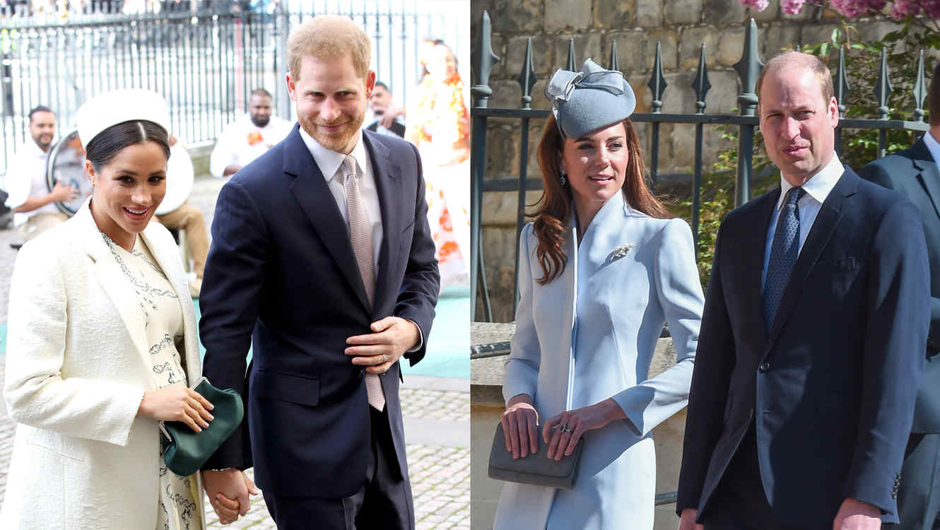 Meghan Markle, Príncipe Harry, Príncipe William, Kate Middleton