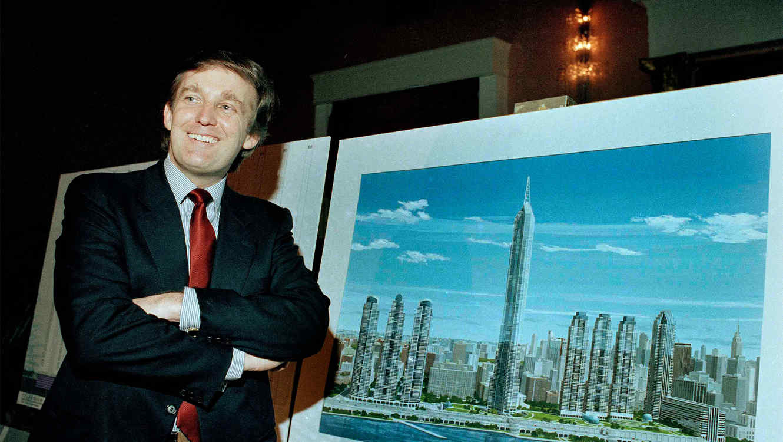 Donald Trump, el magnate de negocios