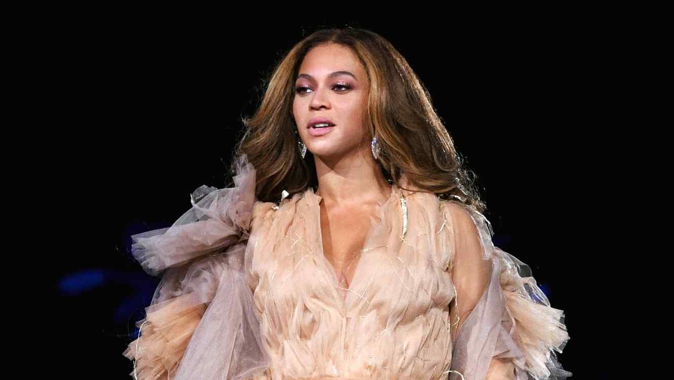 Beyonce performs onstage during the 'On The Run II' Tour
