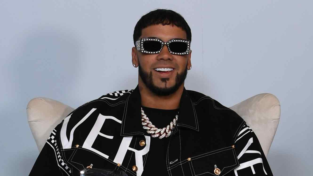 Anuel AA at the 2019 Billboard Latin Music Awards