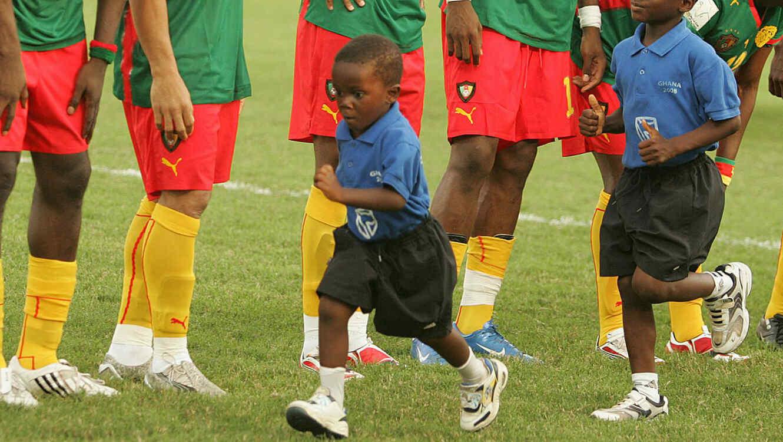 Niños en Camerún