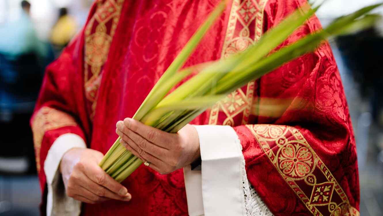 Polémica por sacerdote que rocía agua bendita con fumigador — NOTICIAS