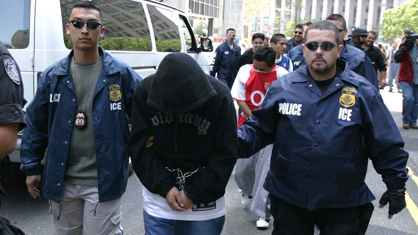 Gang Members Arrested In New York By Immigration And Customs Enforcement