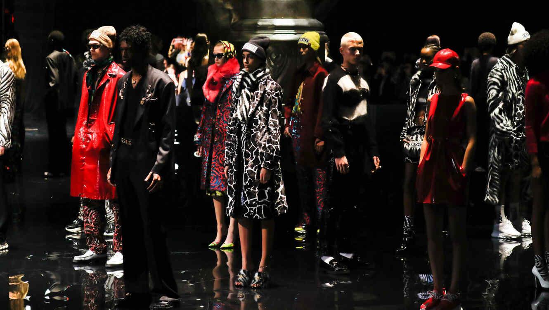 Modelos de Versace