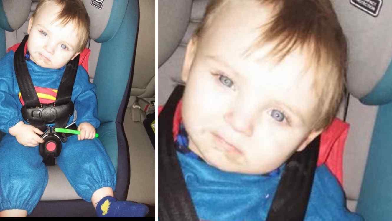 Noah Tomlin, niño de dos años, está desaparecido en Hampton, Virginia