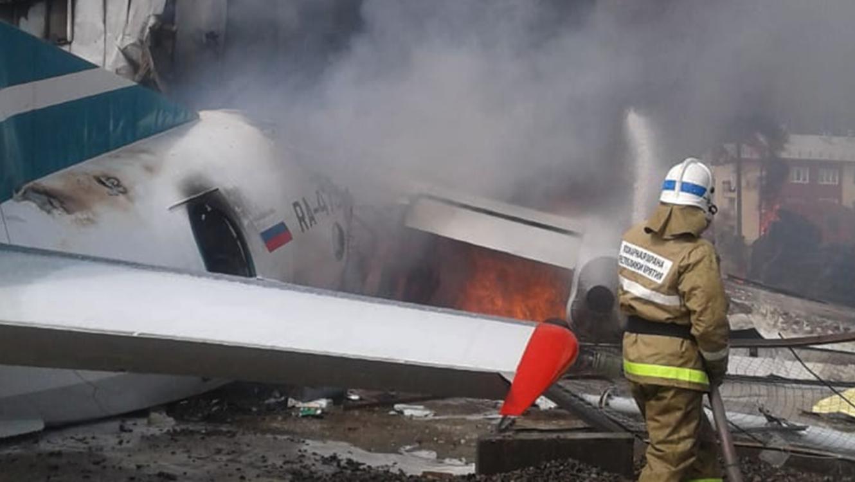 Avión se estrella en Siberia; hay dos muertos y 34 heridos