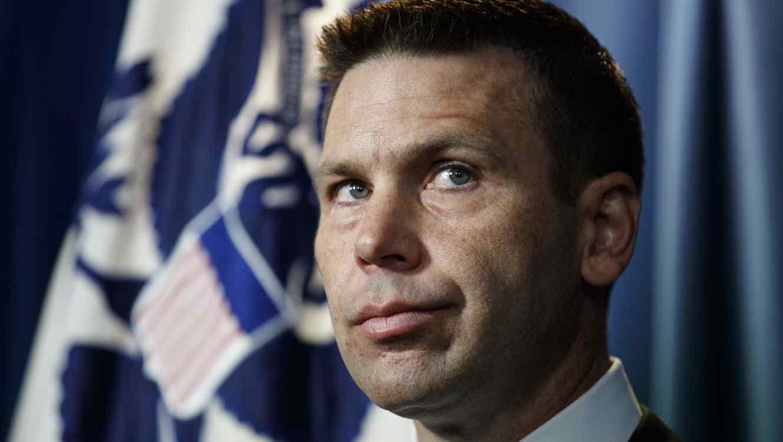 Fotografía de archivo del secretario interino del Departamento de Seguridad Nacional, Kevin McAleenan