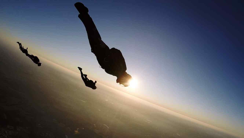Soldado en el aire