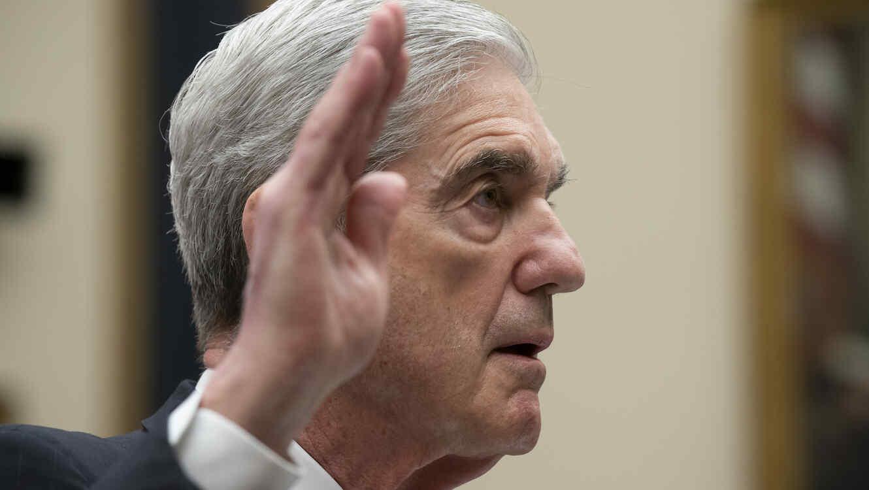 El ex fiscal especial Robert Mueller durante su testimonio ante el Comité de Inteligencia de la Cámara de Representantes el 24 de julio de 2019.