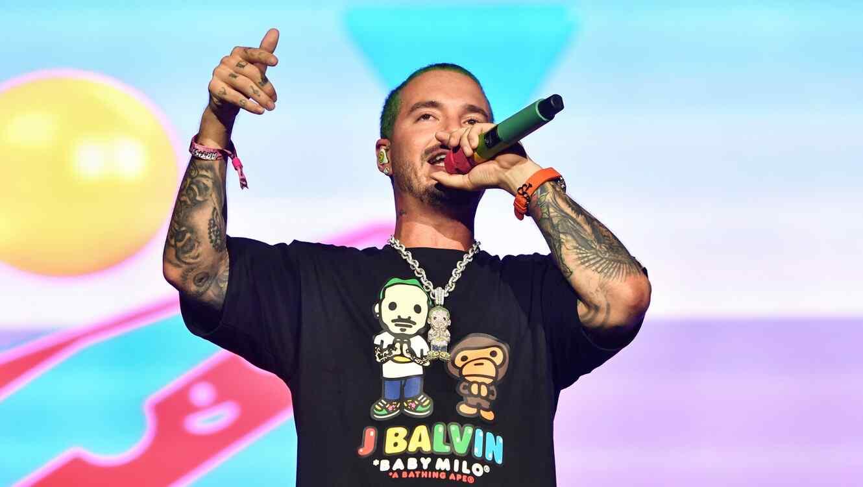 J Balvin makes history at Lollapalooza