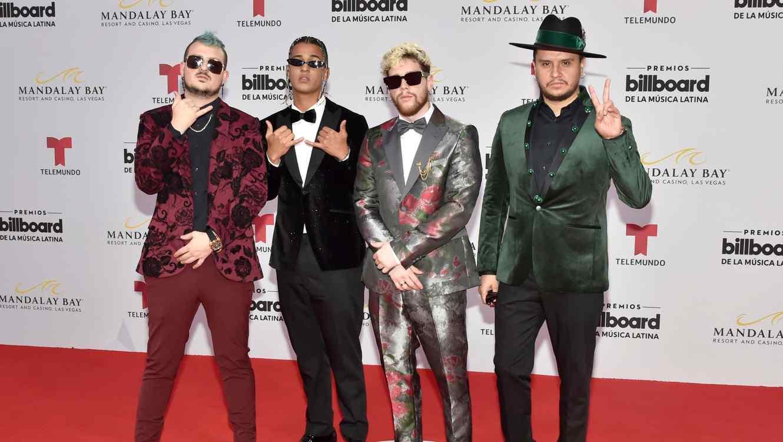Piso 21 attend 2019 Billboard Latin Music Awards