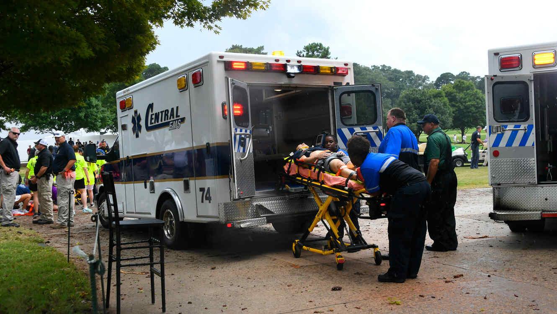 Heridos en torneo de golf de la PGA en Atlanta hoy por un rayo